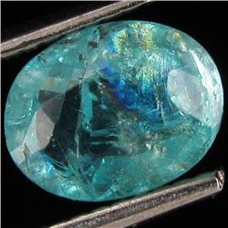1.61ct Blue Green Natural Apatite Oval (GEM-39728)