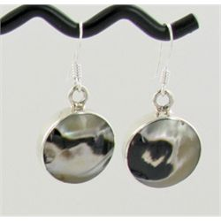 Sterling Mother of Pearl Earrings (JEW-1400)