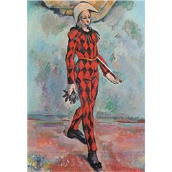 Harlequin - Paul Cezane - Limited Edition On Canvas