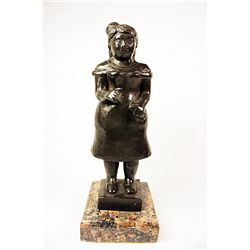 Botero   Original limited Edition Bronze Sculpture - Lady with Purse