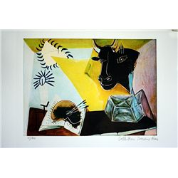 Picasso Limited Edition - Still Life Beast and Palette - from Collection Domaine Picasso