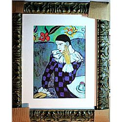 Picasso - Limited Edition - Harlequin Leaning On Elbow