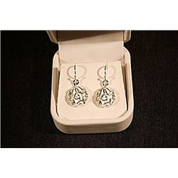 Lady's Fancy Tiffany Sterling Silver  Earrings