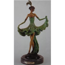 Sophistication  Bronze Sculpture Inspired - Icart