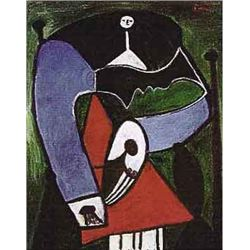 "Picasso ""Thin Necked Small Headed Lady"""