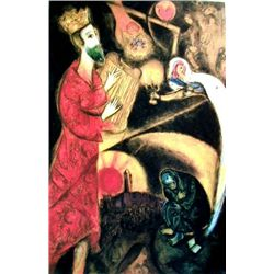 "Marc Chagall ""King David"""