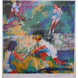 "Hand Signed Neiman ""Tennis Match"""
