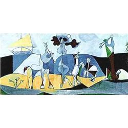 "Picasso ""Animals Playing Musical"""