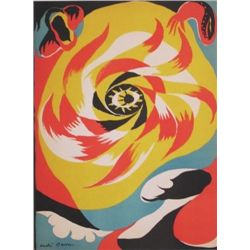 "Masson Original Lithograph ""The Sun"""