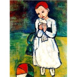 "Picasso ""Child Holding A Dove"""
