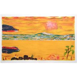 "Pierre Bonnard ""Sunset On The Mediterranean"""