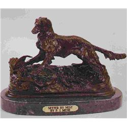 """Setter - Nest"" Bronze Sculpture - Mene"