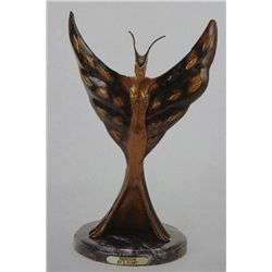 """Freedom"" Bronze Sculpture Inspired - Icart"