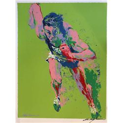 "Hand Signed Neiman ""Olympic Runner"""
