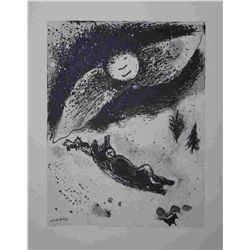 Marc Chagall 1952 Antique Lithograph