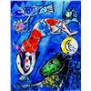 """Marc Chagall """"Bay Of Angels"""""""