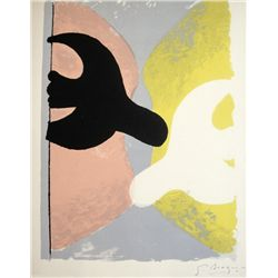 GEORGES BRAQUE, Signed Lithograph, 1963