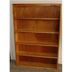 Pine bookcase NO INTERNET BIDS ON THESE ITEMS!