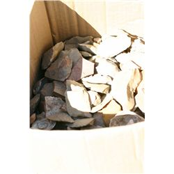 Box of Fragment Flint Aartifacts