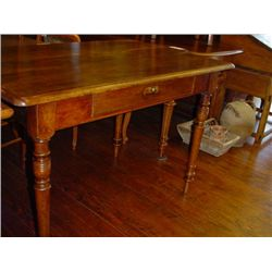 French farm table with drawer circa 1850