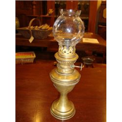 French Oil Lamp Lampe Pigeon circa 1860