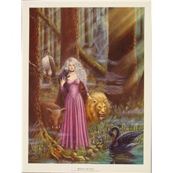 Beasts of Eld Victoria Poyser Art Print Mysterious