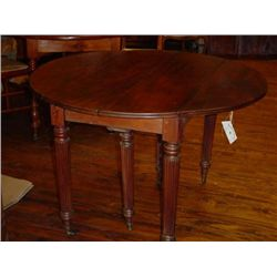 French Louis Philippe round table circa 1850