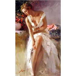 Angelica by Pino Giclee Signed 42x24