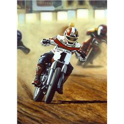 Scott Jacobs ULTIMATE CHAMPION Canvas Motorcycle Art
