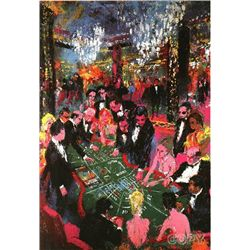 Baccarat by LeRoy Neiman S/N 38x26