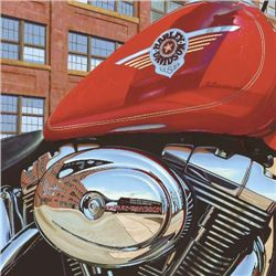 Harley Davidson Motorcycle Art THE FACTORY Scott Jacobs