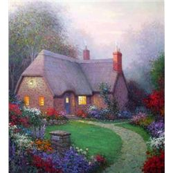 Country Cottage By Sargon Numbered and Signed Giclee