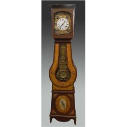 French Provincial grandfather clock cir 1870