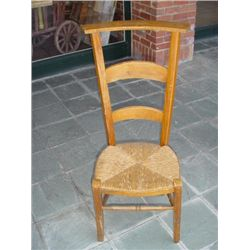 French prayer chair late 1800's