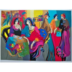 Isaac Maimon CAFE DE LION Limited Ed. Hand Signed Serig
