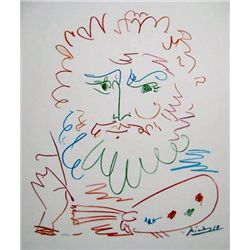 This is a Pablo Picasso giclee titled LE ROI .