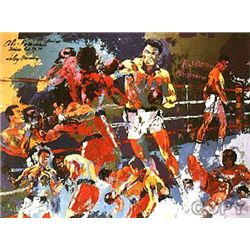 Homage To Ali by LeRoy Neiman 28x38 S/N
