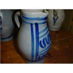 French jug pitcher from Alsace circa 1920