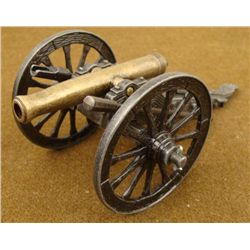"CIVIL WAR CANNON IN METAL --7"" LONG"