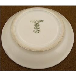 1942 NAZI WEHRMACHT.ARMY DINING HALL SAUCER MARKED