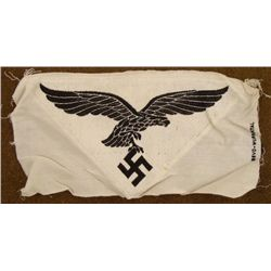 WWII GERMAN LUFTWAFFE BEVO EAGLE & SWASTIKA WUPPERTAL