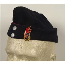 West German Post War Cap w/ Fightfighter Emblem