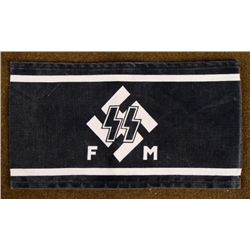 REPRODUCTION SS NAZI ARMBAND