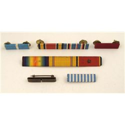 SIX WWII RIBBON BARS