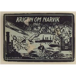 ORIGINAL NAZI INVASION OF NARVIK 1940-PHOTO BOOK