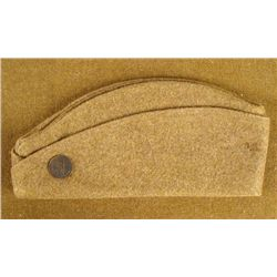 WWI U.S. WOOL OVERSEAS CAP FOR DOUGHBOY
