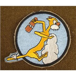 AIR SQUADRON MASCOT PATCH -REPRODUCTION
