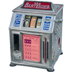 1 Cent Groetchen  The Bartender  Beer 3-Reel Trade