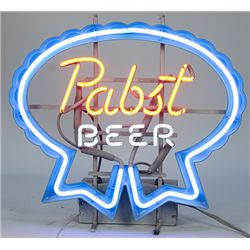 "Vintage ""Pabst Beer"" Neon Light"