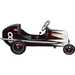 Vintage Metal Roadster #8 Pedal Car